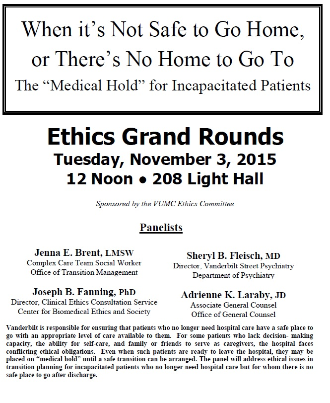 grand rounds 2015
