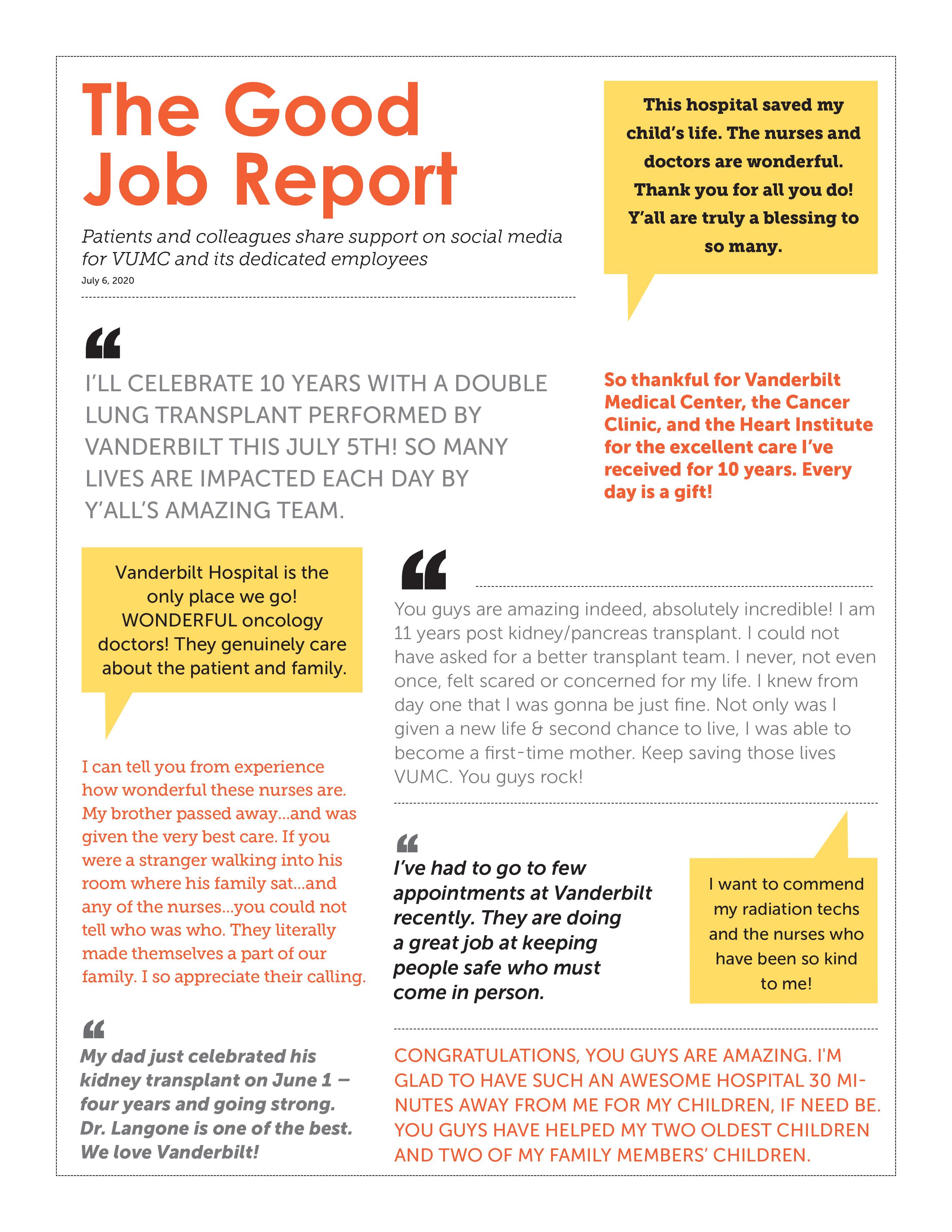 Good Job Report