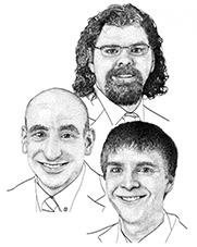 Bennet Landman, Ph.D., Bradley Malin, Ph.D., and Colin Walsh, M.D., M.A.