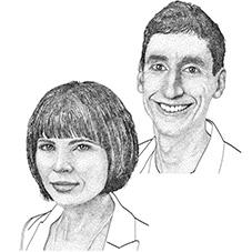 Tony Capra, Ph.D. and Lisa Bastarache, M.S.<