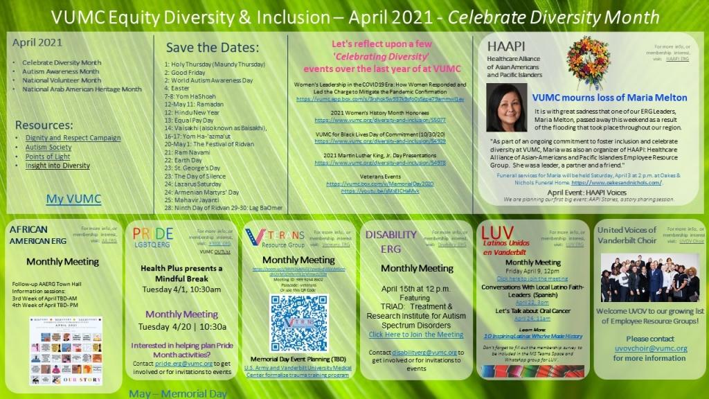 April EDI Events