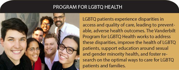 Program for LGBTQ Health