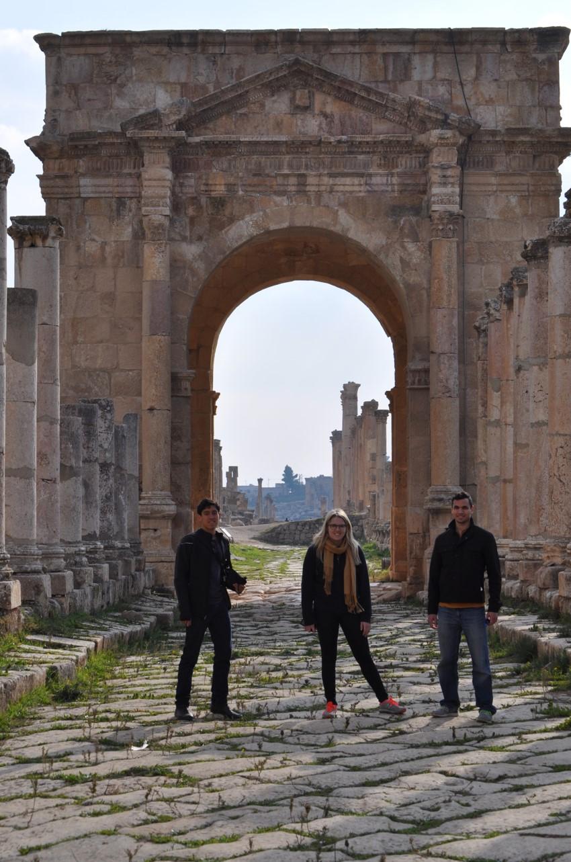 Jordan - Roman Ruins in Jerash, Jordan - Eric, Omar & Ashley.jpg