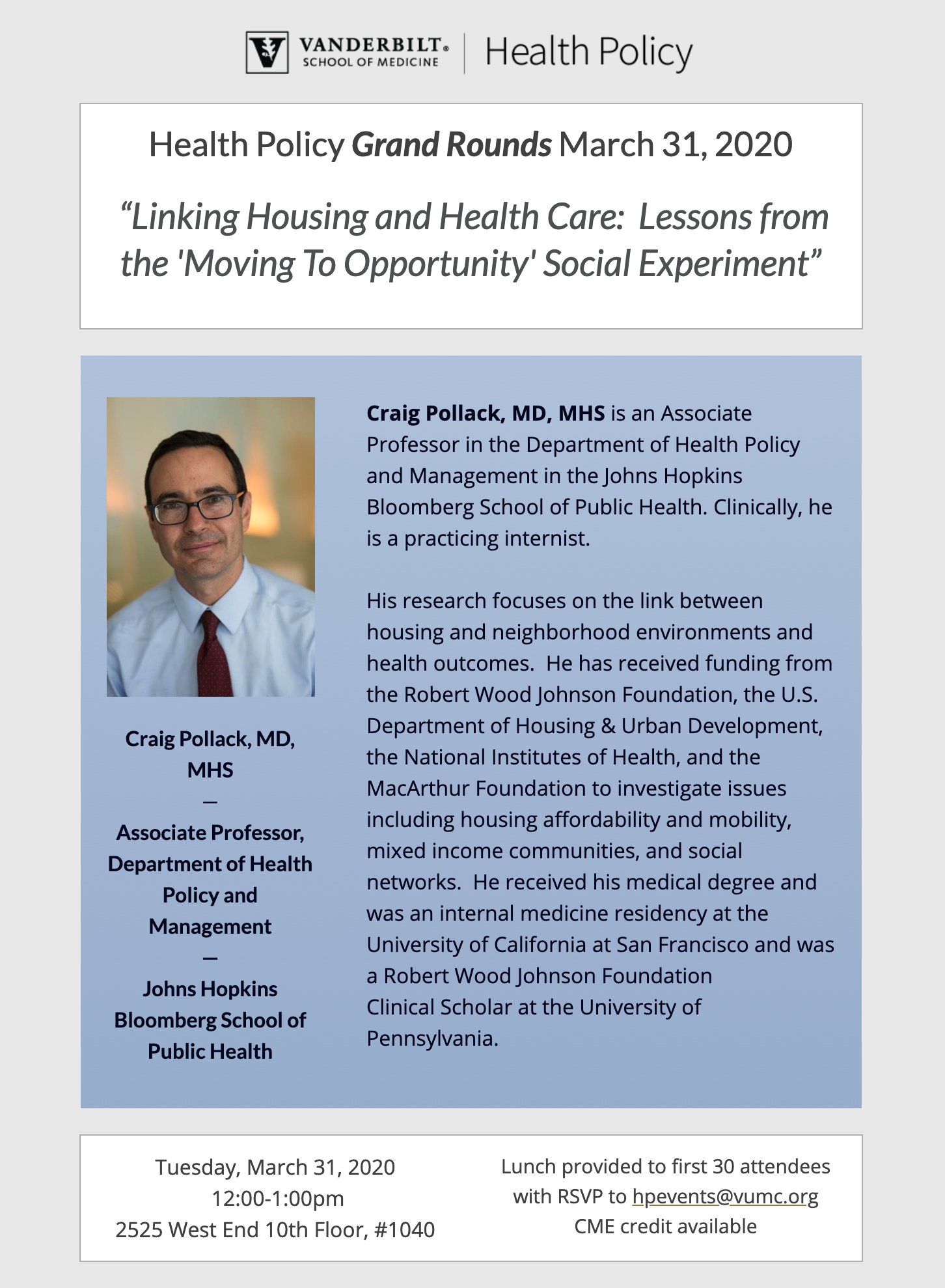 grand rounds flier for march 2020 craig pollack johns hopkins