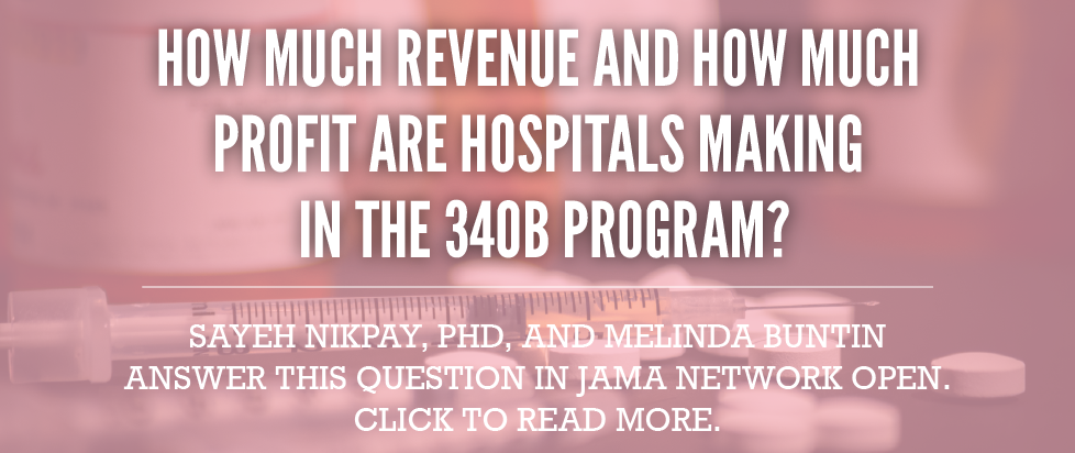 How much money are hospitals making on the 340B program?
