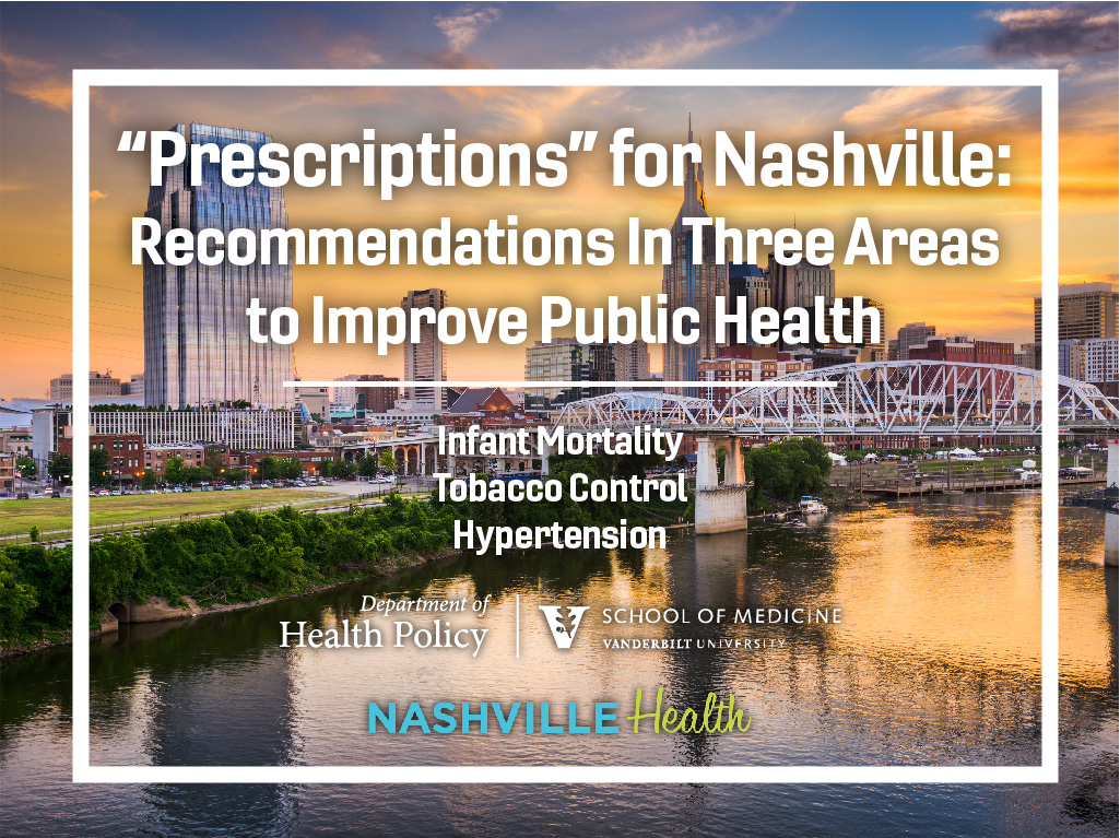 NashvilleHealth Recommendations Title slide