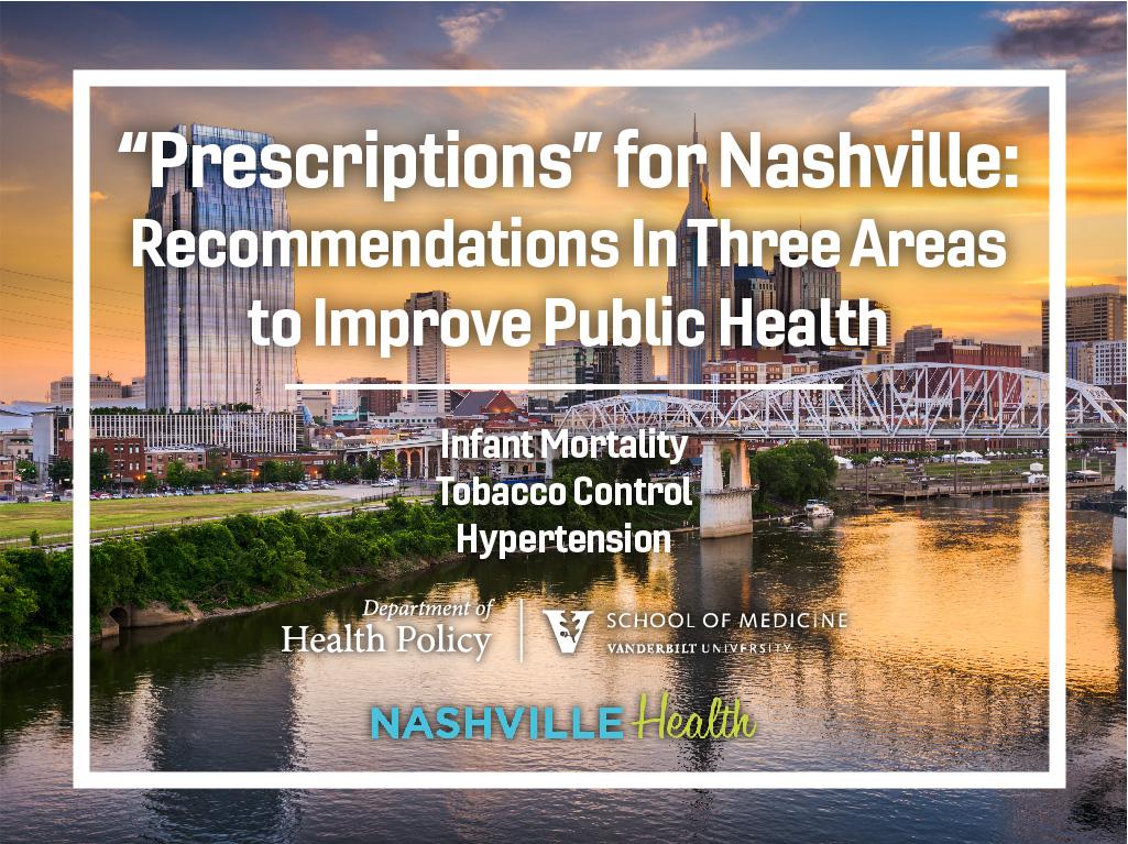 NashvilleHealth Recommendations Title slide