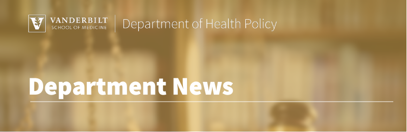 Department news header image