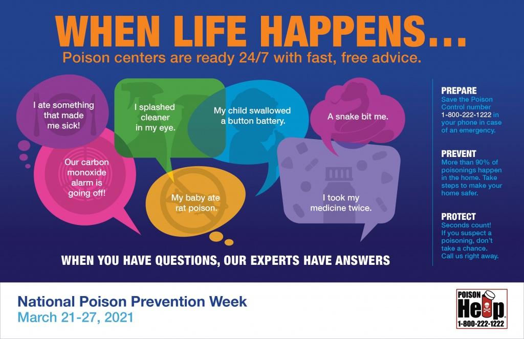 Poison Prevention Week 2021