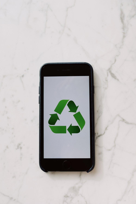 Recyle Symbol on Phone