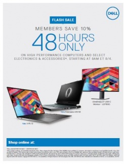 Dell August Flash Sale
