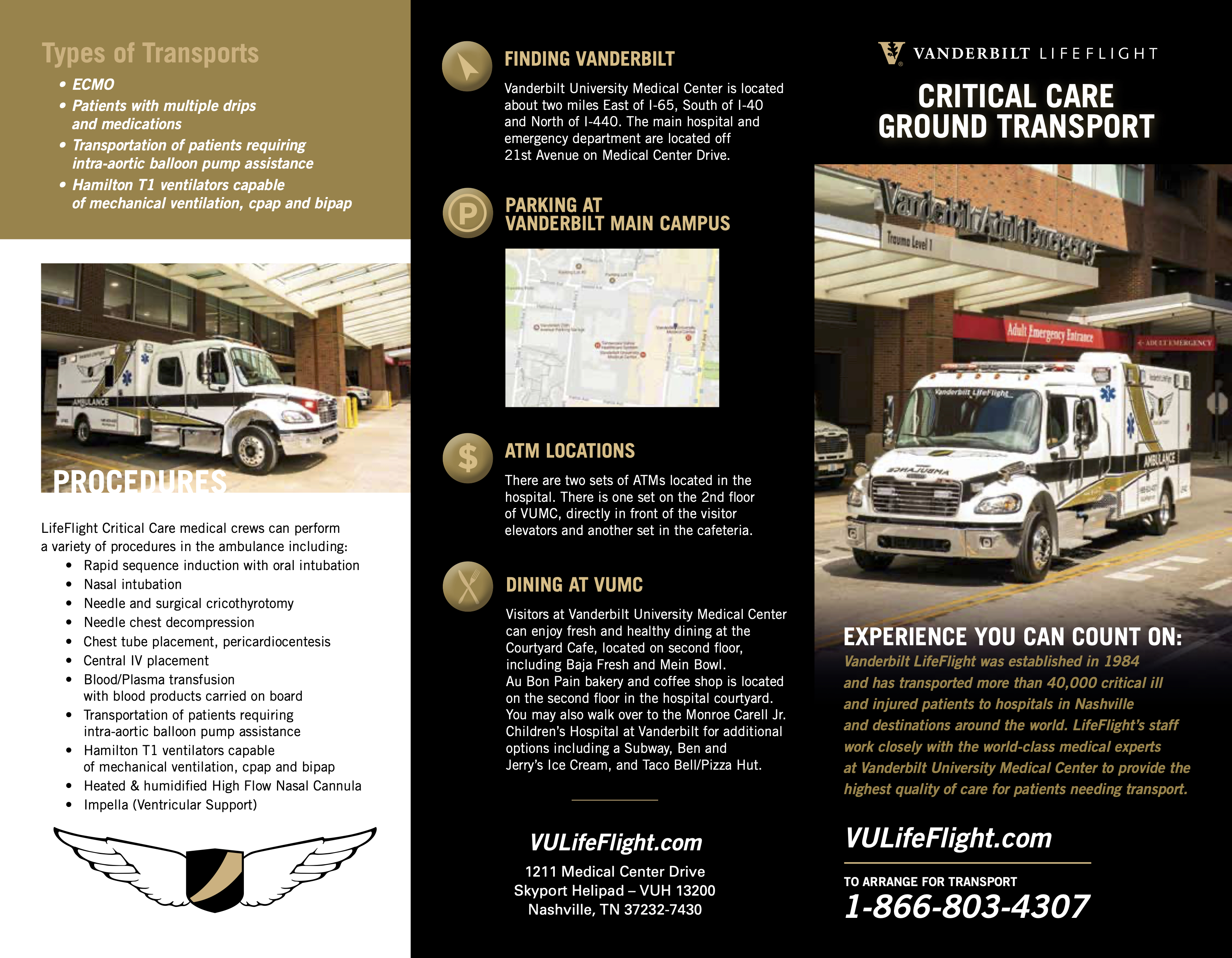 Critical Care Ground Transport Page 1