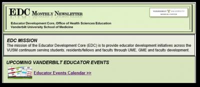 EDC Newsletter