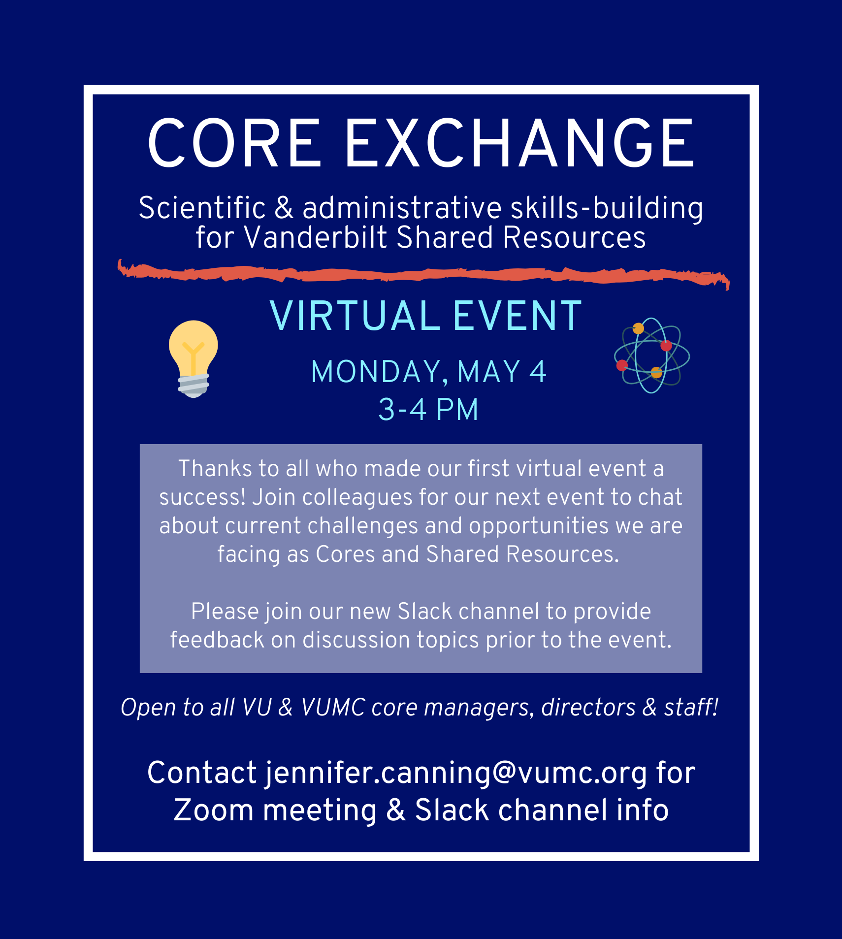 Virtual Core Exchange May 2020
