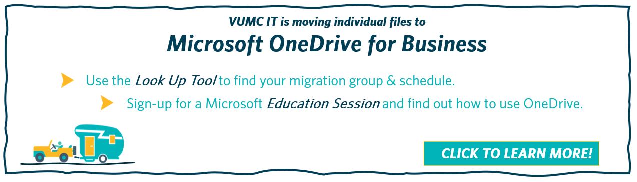 VUMC OneDrive