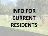 Info for current residents
