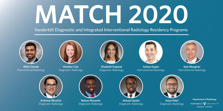 VUMC Radiology Match 2020