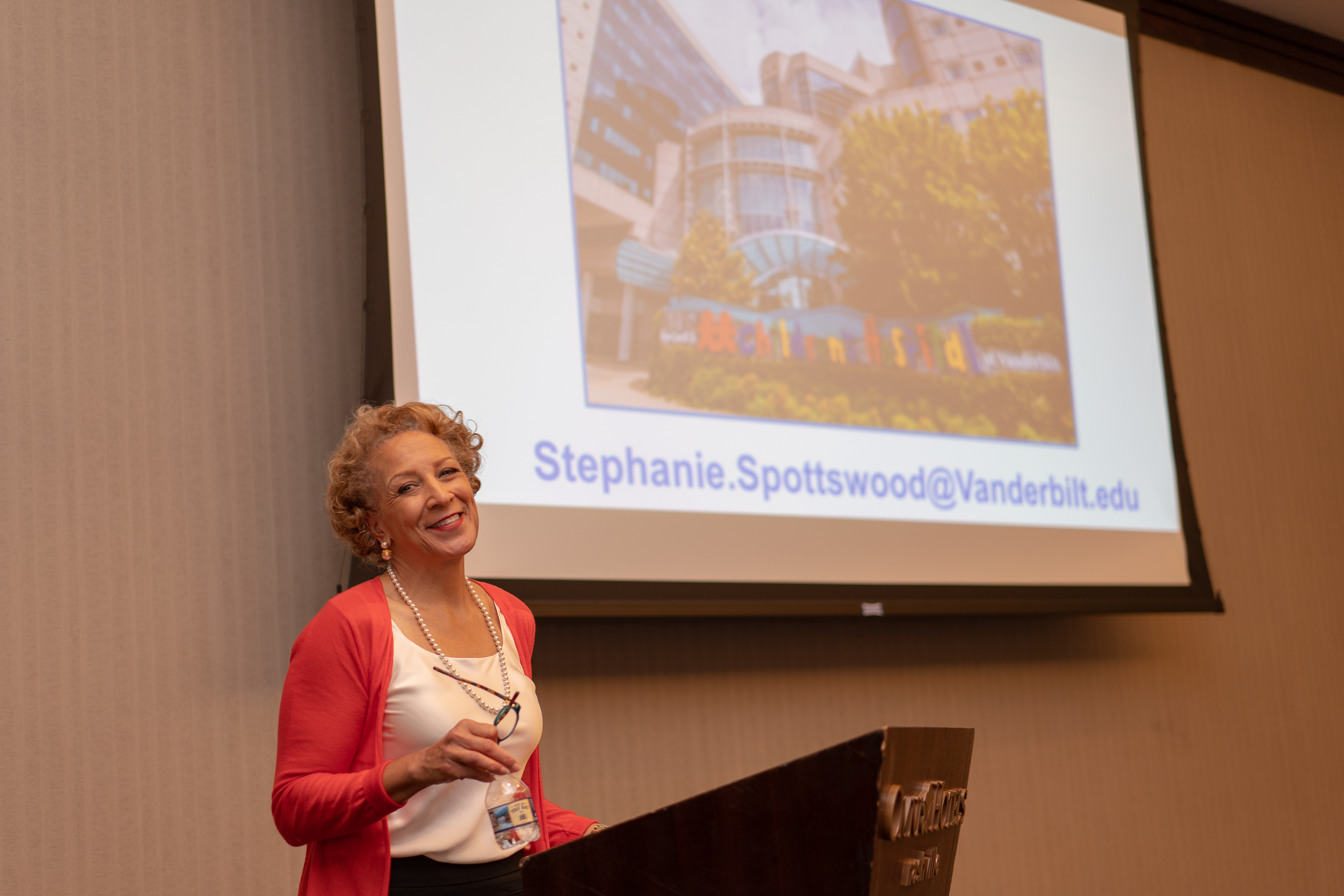 Spottswood giving UCB seminar