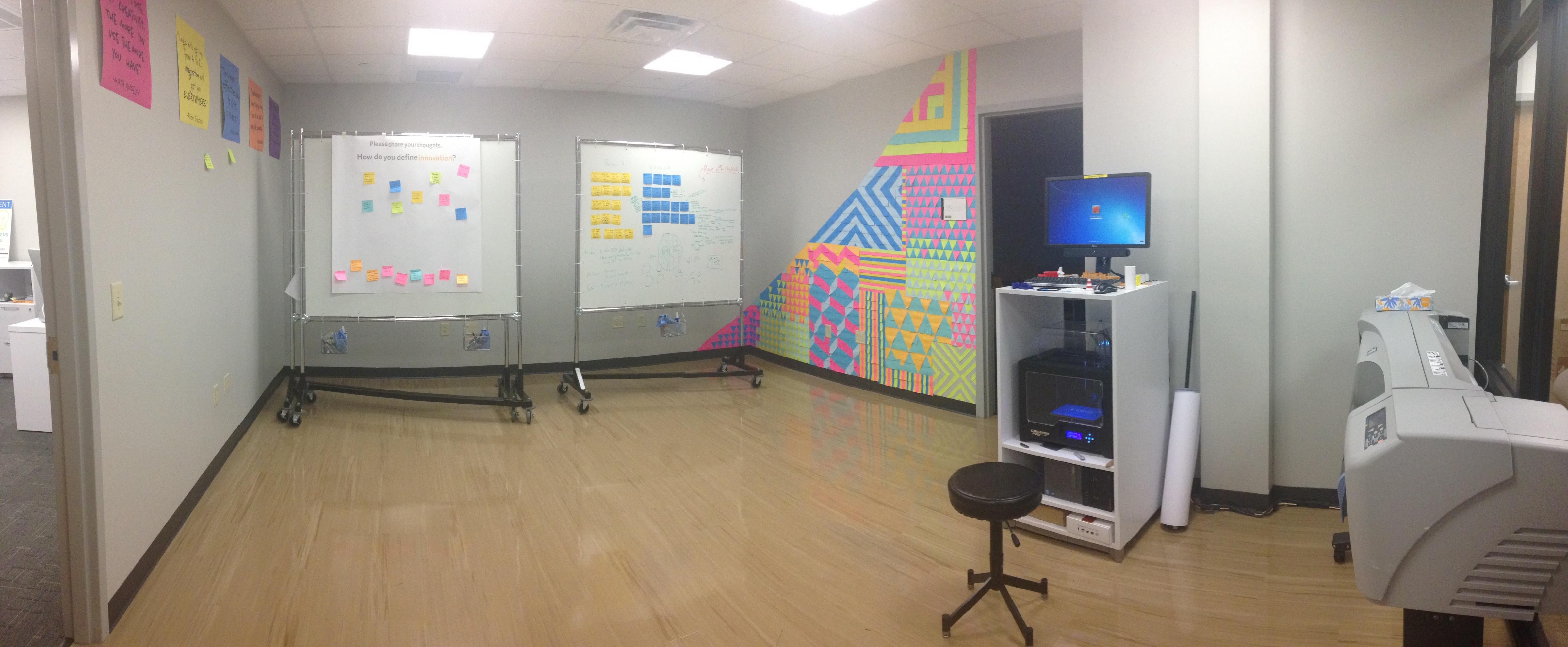 RAD Studio Makerspace and Design Thinking