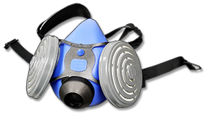 Respirator used for animal allergy protection