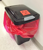 Proper Waste Container for Collection of Insect Waste