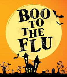 Boo to the flu