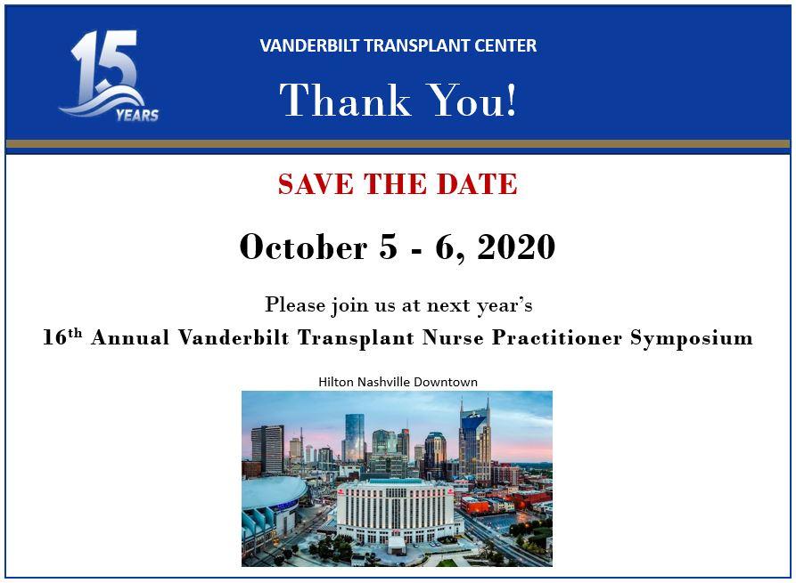 Symposium Save the Date