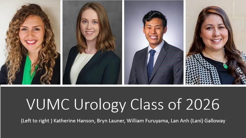 VUMC Urology Class of 2026