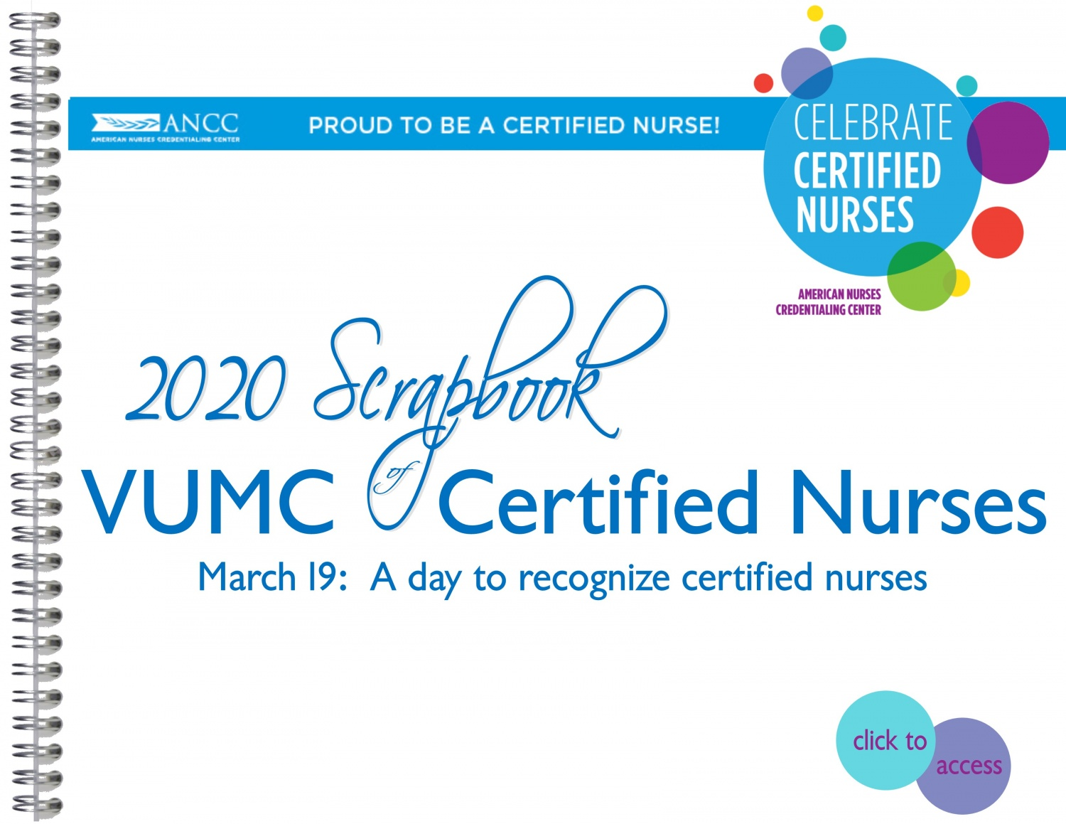 2020 Certified Nurses Scrapbook