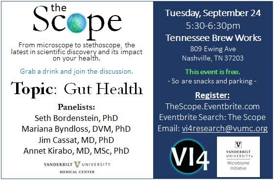 Vanderbilt Institute for Infection, Immunology, and Inflammation presents the Scope.