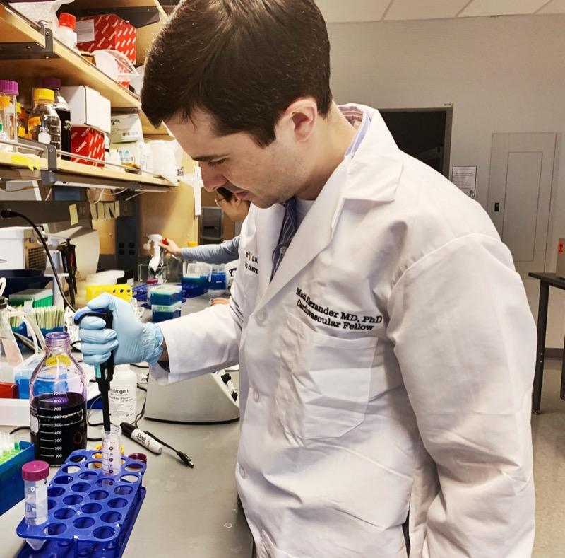 Matthew Alexander, M.D., Ph.D. 4th Year Research Fellow