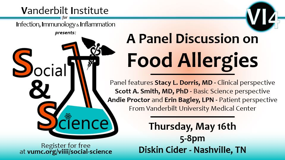 Vanderbilt Institute for Infection, Immunology, and Inflammation presents Sips & Science