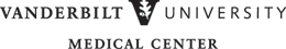 Vanderbilt University Medical Center black logo
